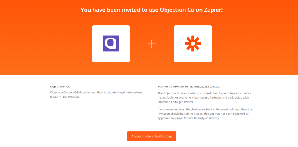 Zapier + Objection Co